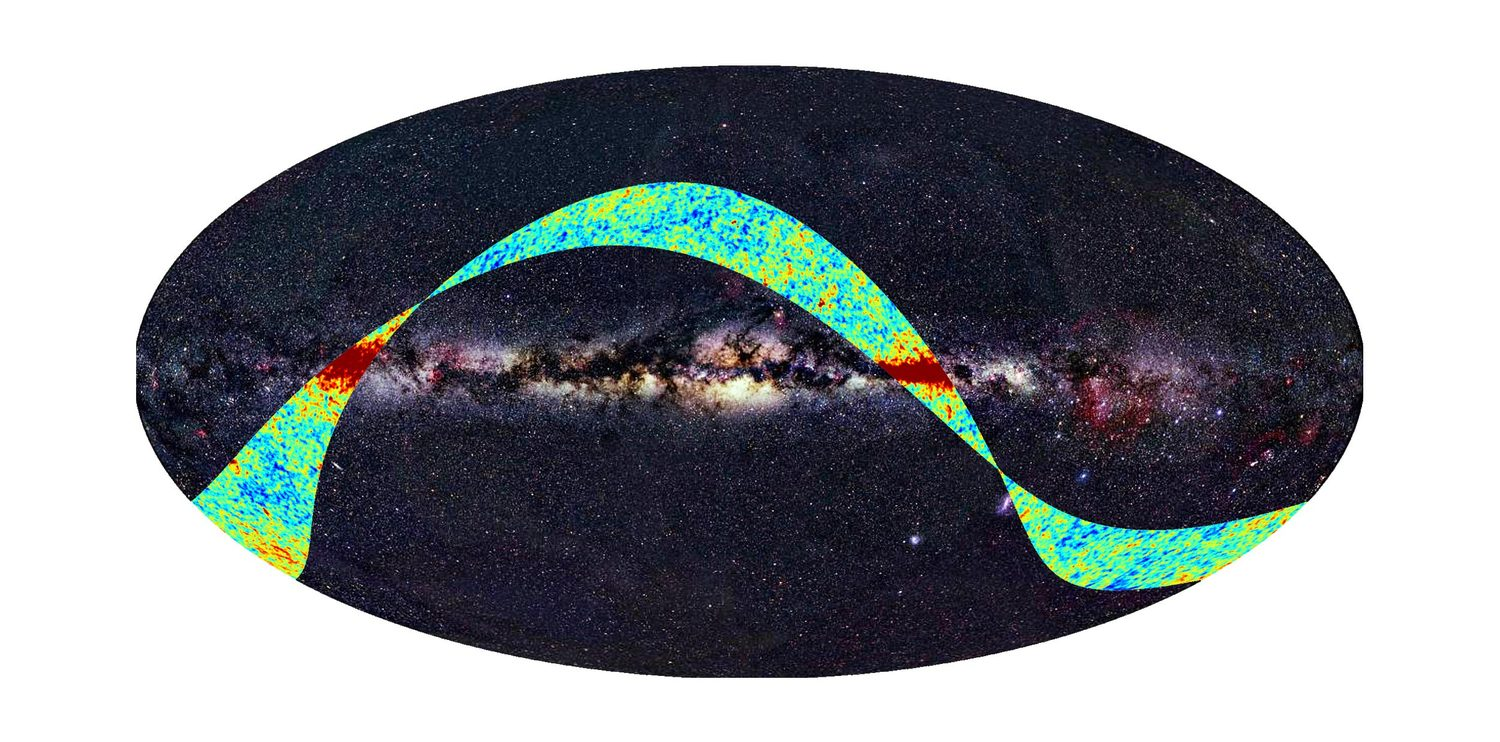 Planck Maps the Microwave Background